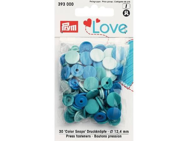 Bilde av Prym Love – Non-sew Color Snaps – Blue