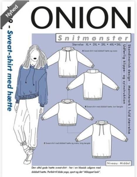 Bilde av Hettegenser XL-5XL - Onion