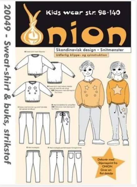 Bilde av Genser og bukse 2-10 år - Onion